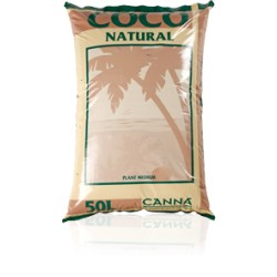 CANNA COCO NATURAL MEDIUM 50 L.