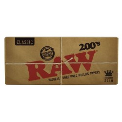 RAW CLASSIC KING SIZE SLIM 200