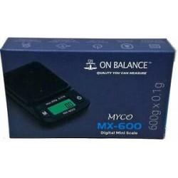 BASCULA ON BALANCE MYCO MX-600 600G x 0.1G