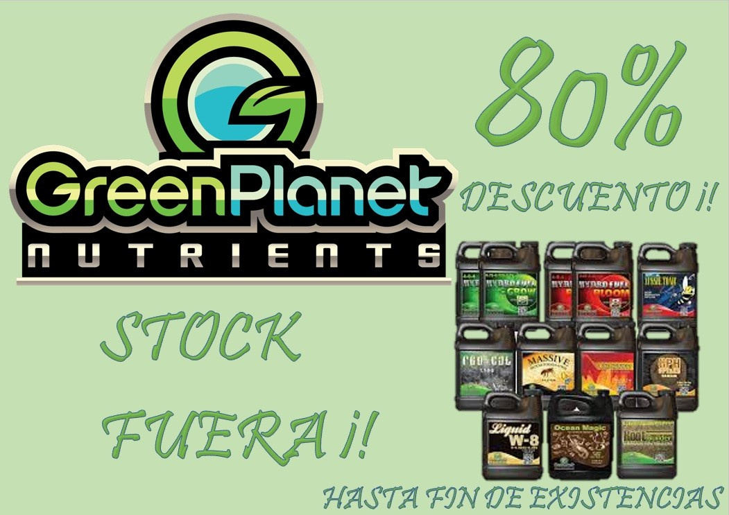 STOCK FUERA GREEN PLANET
